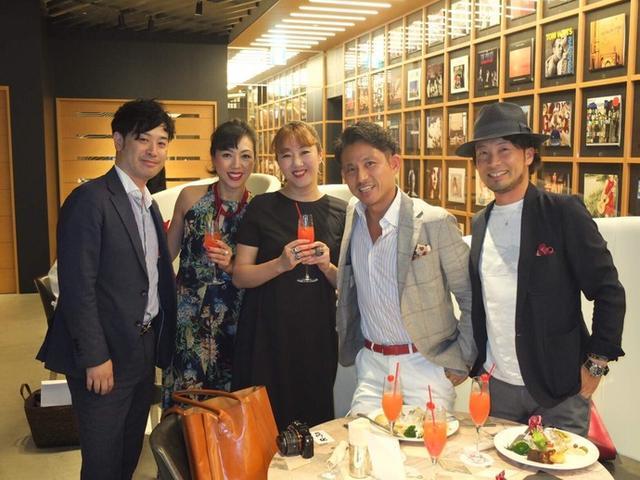 画像: 『OK! JAPAN 』の10周年パーティ