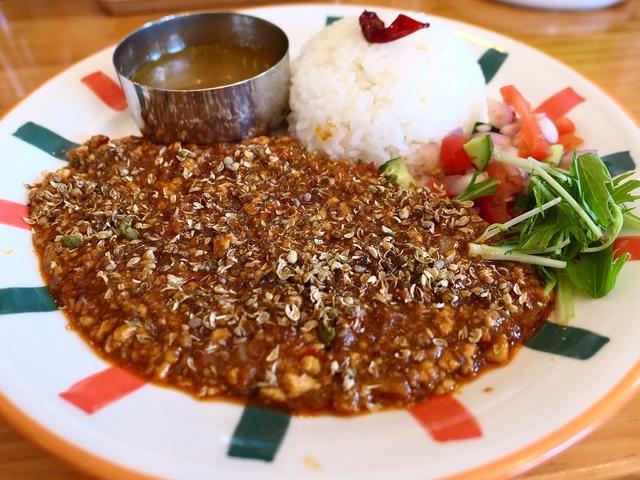 画像: カレー専門店の麻婆豆腐は深い旨みとスパイスがしっかり効いて病みつき系の味わいです! 天満 「26カレー」