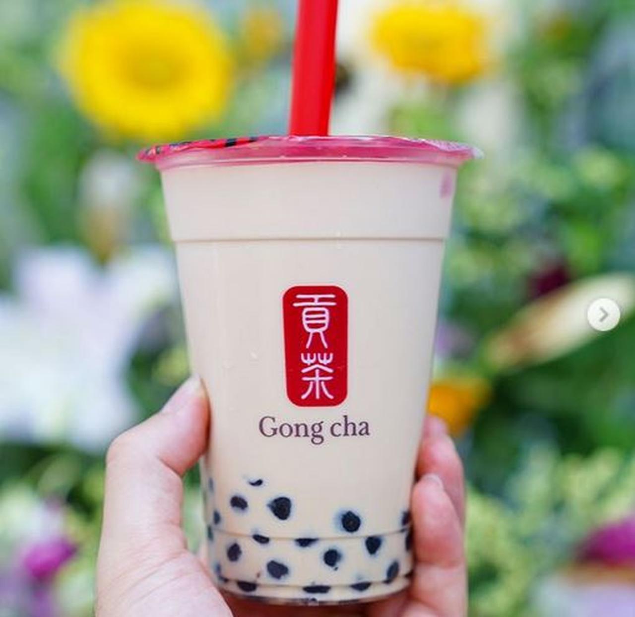 タピオカ入りのミルクティーに、フォーリンラブ!台湾茶で人気のゴンチャが、8月24日大阪.