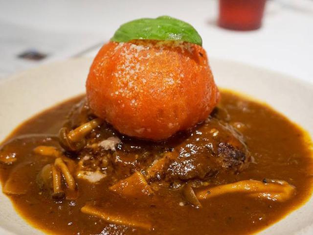 画像: 【福岡】丸ごとトマトのせハンバーグ♪@山本のハンバーグ 太宰府店