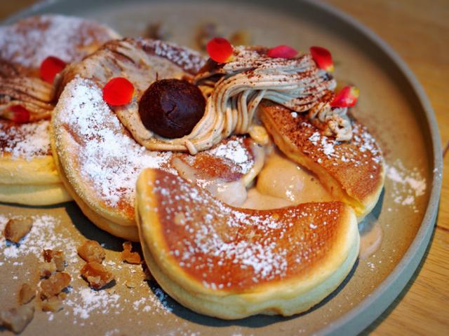 画像: HANDS EXPO CAFE 銀座・Premium Pancake2018マロン