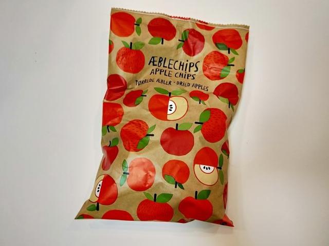 画像: りんごチップス