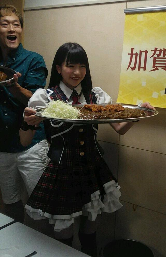 画像: 大食いイベント後のごはん♡