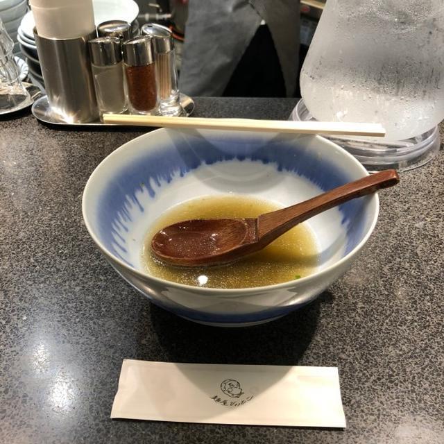画像: 麺屋ひょっとこ(銀座 / 柚子塩ラーメン)