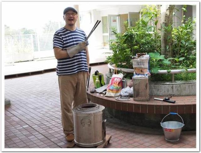 画像: カレーですよ食育の先生(鎌倉市立第一中学校)鎌倉の中学校でタンドールの授業。