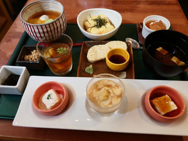 画像: 作りたての湯葉の湯葉料理尽くしが楽しめます! 京都市東山区 「ゆば泉 清水五条坂店」