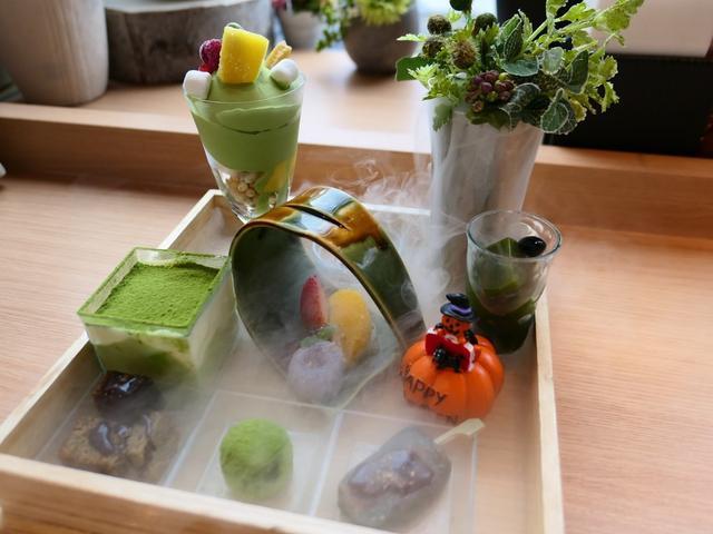 画像: Mのおやつ 抹茶の風味が濃厚な絶品スイーツが玉手箱で楽しませていただけます! 京都拉麺小路 「茶筅」