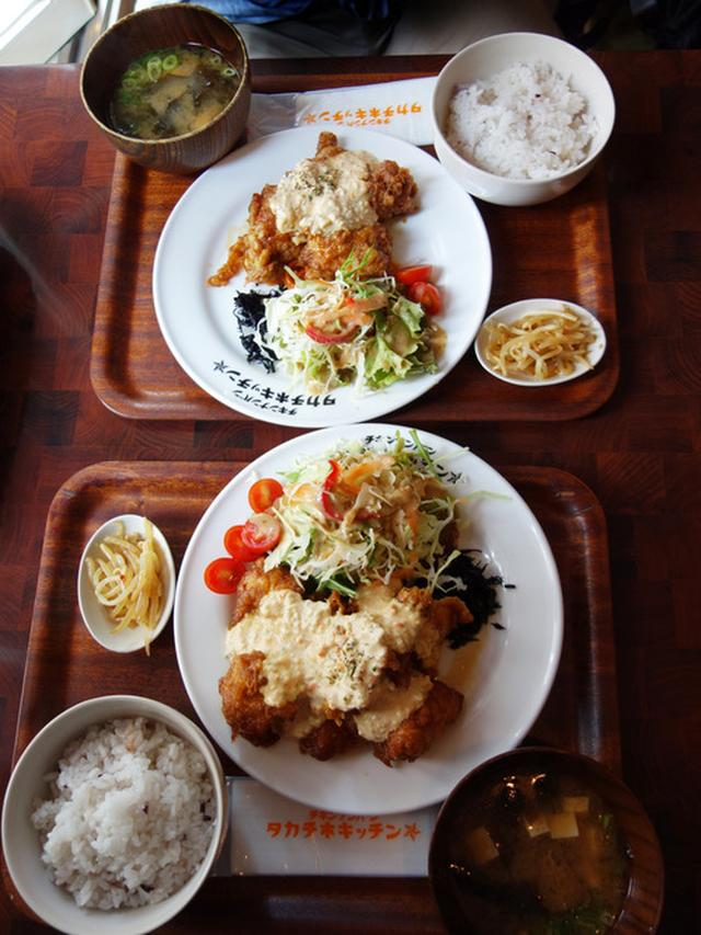 画像: 【福岡】専門店のつゆだくチキン南蛮定食♪@タカチホキッチン