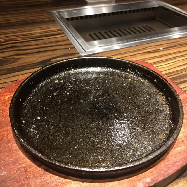 画像: 焼肉ブルズ(大井町 / わさび醤油の黒毛和牛ハンバーグ)