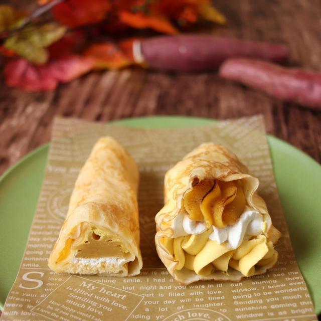 画像: ファミリーマート・安納芋のクレープ