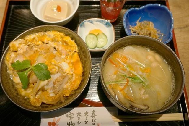 画像: 【福岡】炭焼鶏茶漬け御膳♪@手づくり茶屋 よか処 やまもも