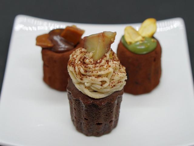 画像: ハイカカオ チョコレートスタンド・チョコカヌレフォンダン