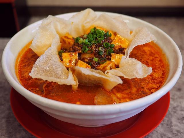 画像: 絶品の濃厚旨辛味噌ベースのラーメンに麻婆豆腐が乗っかった新感覚の麻婆ラーメンは感動的な美味しさです! 関目高殿 「男のラーメン 関目団長」