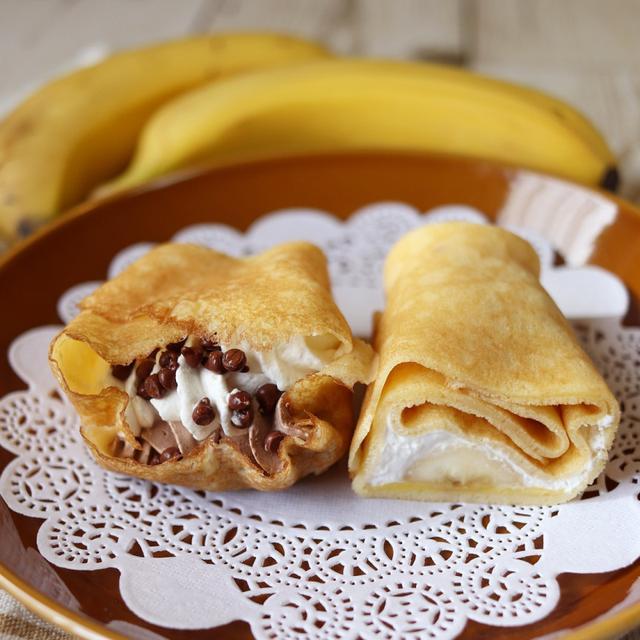 画像: ファミリーマート・ファミマクレープ チョコ&バナナ