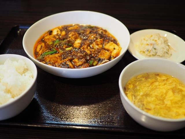 画像: 行列ができる大人気の四川麻婆豆腐ランチは癖になる味わいです! 西区立売堀 「チリレンゲ」