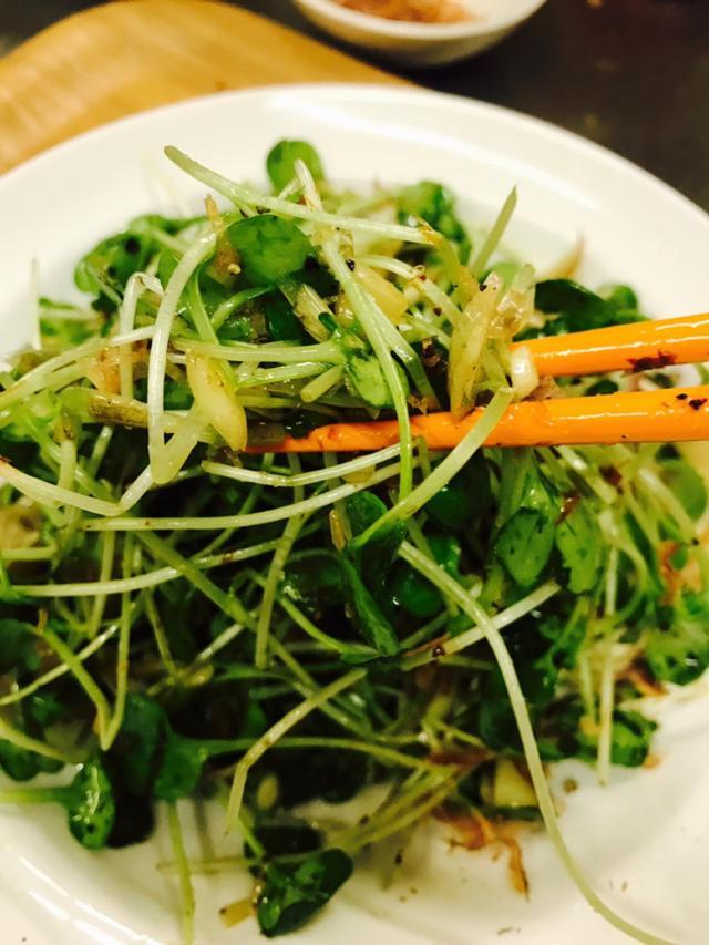 画像: 瞬技!つまみ菜とみょうがのスパイスサラダ