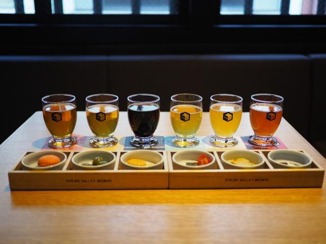 画像: Mのちょっと一杯! 醸造所を併設した築100年の町家でクラフトビールの飲み比べとおつまみのペアリングが楽しめます! 京都市中京区 「スプリングバレーブルワリー 京都」