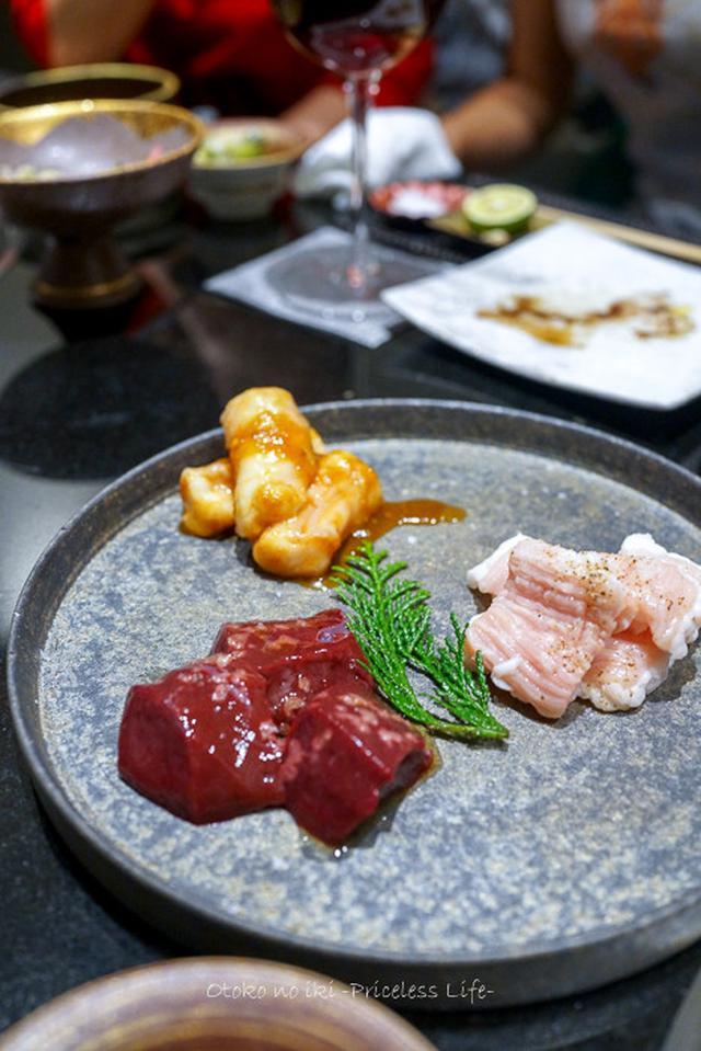 画像: 焼肉喰心(大宮)自然派ワインと肉のアッビナメント