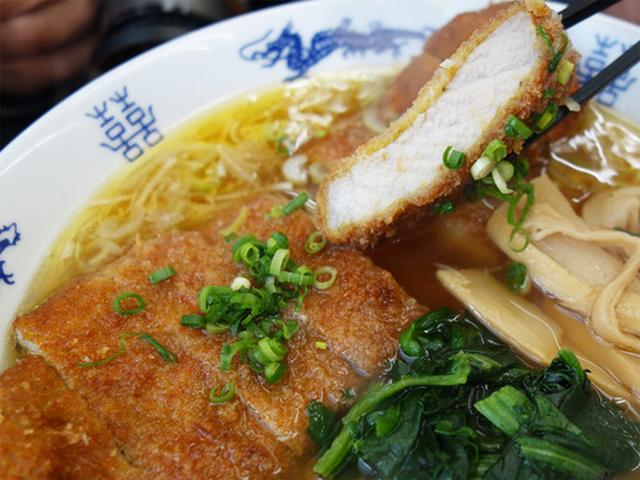 画像: 【福岡】ニラカラ麺&パーコー麺♪@黄金の福ワンタン まくり 飯倉本店
