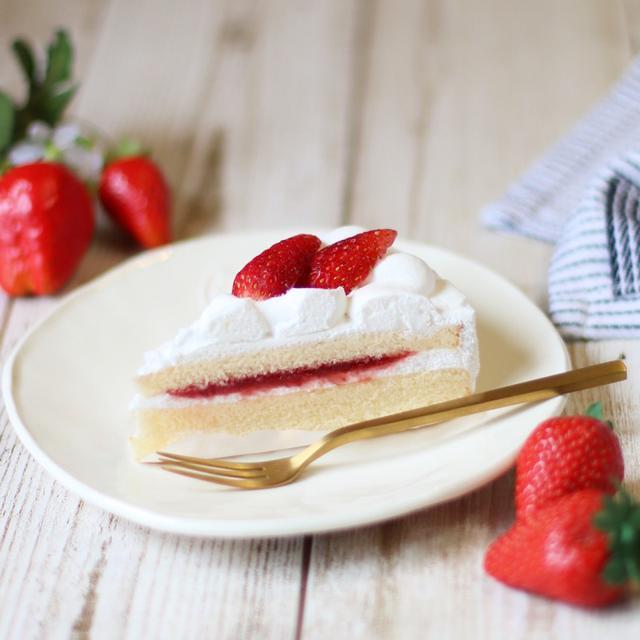 画像: セブンイレブン・セブンプレミアム 苺のショートケーキ