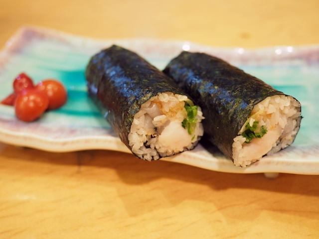 画像: ふぐの白子とてっさがギュッと詰まった恵方巻『ふく巻』はとても贅沢な味わいです! 豊中市 「遊食遊膳 笹庵」