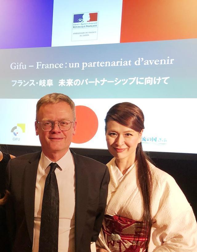 画像: 祝10周年!「フランス・岐阜県 地域交流」記念レセプションへ フランス大使館