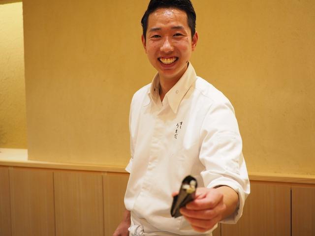 画像: 淡路島の食材を堪能させていただける才能とセンス溢れる弱冠25歳の新鋭寿司職人さんのお店 神戸市中央区 「すし うえだ」