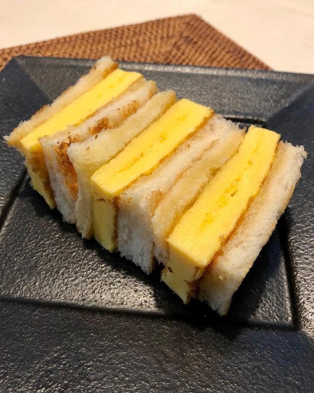 画像1: オムレツサンド作った。 『関口ベーカリー』の食パン旨いな〜!  #オムレツサンド #関口ベーカリー #グギメシ www.instagram.com