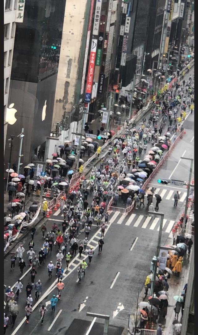 画像: 東京マラソン応援!& 銀座「ビストロ マルクス」ランチビュッフェへ