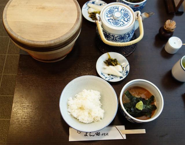 画像: 【福岡】天神老舗割烹の味!名物鯛茶ランチ♪@割烹 よし田 はなれ