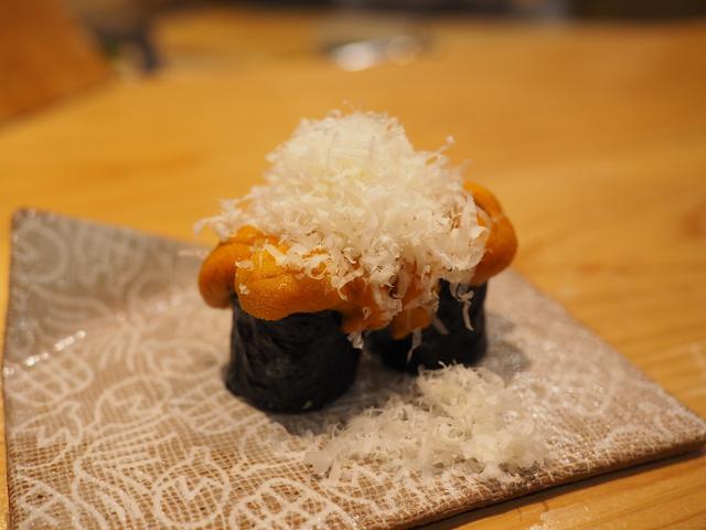 画像: 正統派江戸前寿司をベースに独自の発想をプラスした創作系が感動的に旨い! 福島区 「鮨 永吉」