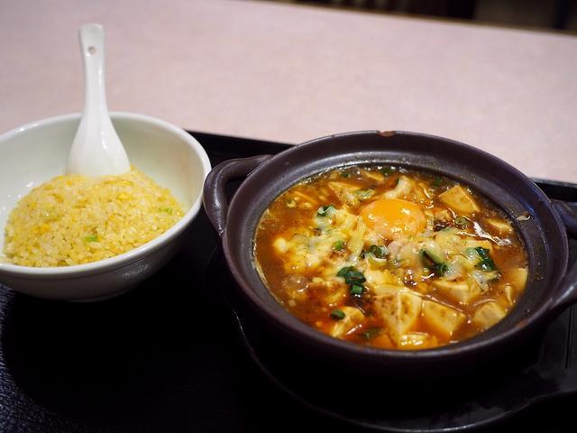 画像: 『麻婆豆腐 × チーズ × 麺 + 炒飯』はあまりにも満足感が高すぎます! 東京都千代田区 「源来酒家」