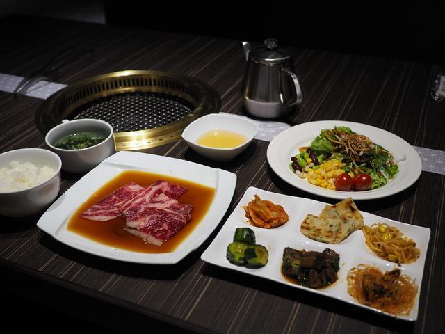 画像: 高級感溢れる空間でブッフェ付きのお得な焼肉ランチがいただけます! 京都市右京区 「天壇 西院店」