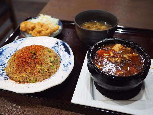 画像: 食べれば食べるほどどんどん病みつきになる四川麻婆豆腐と辛い炒飯ランチ! 谷町四丁目 「四川麻婆 天天酒家 谷町店」