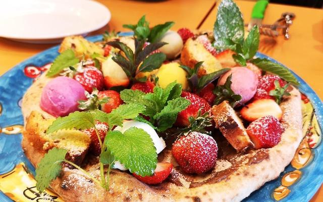 画像: わざわざ行きたい!自家栽培野菜と苺を楽しめるピッツェリア!