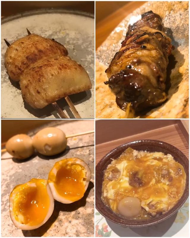 画像: 【2019年焼鳥17軒目『七鳥目』May.9】  『七鳥目』は、美味しすぎて毎回感動しているのですが、今日の「はつもと」は、神レベルで美味しかった〜!!!!!!!   お料理は、 筍とあおさ海苔の茶碗蒸し アスパラガス...