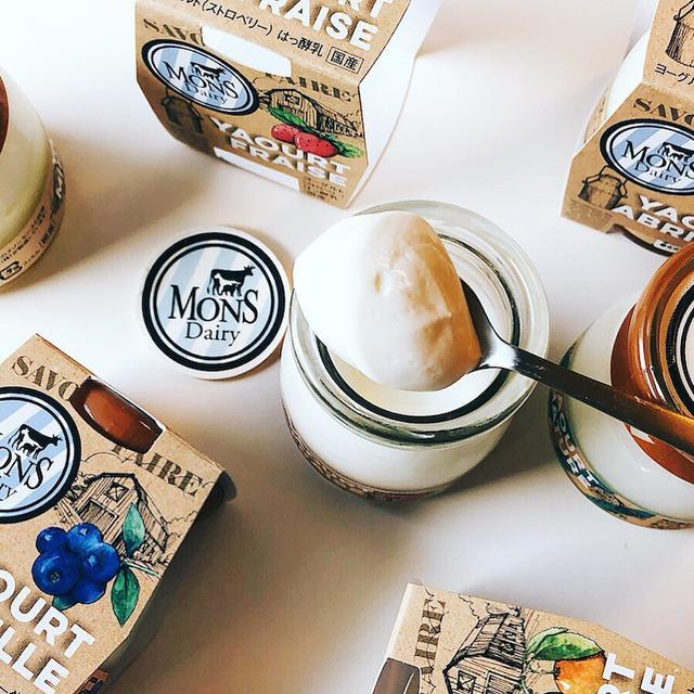 画像: 日仏の乳製品のプロがコラボして作ったヨーグルト「モンス Mons デイリー ヨーグルト」