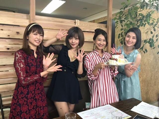 画像: 本日!BSフジの番組「橋本マナミのヨルサンポVI」に出演予定