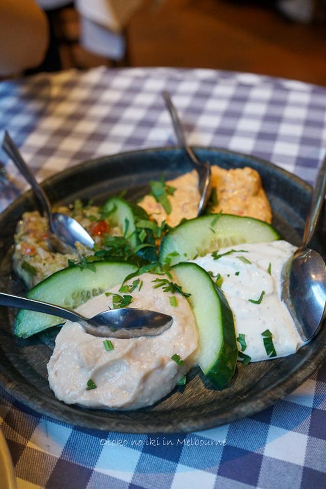 画像: Tsindos(メルボルン)ギリシャ料理との初対峙