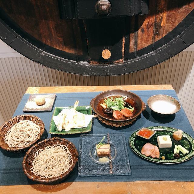 画像: 十割手打ち蕎麦「夕星ゆうづつ」オープン❗️ミシュラン 「レザンファン ギャテ」とコラボ!