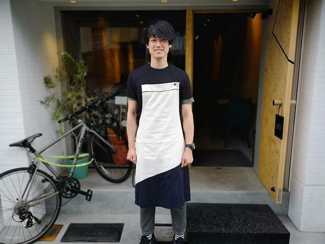 画像: 京都e.o.eでもマッシュルームのビスマルク!