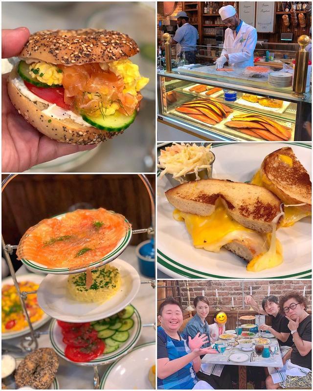 画像1: ニューヨークで、最高の朝食を食べました!  フォーリンデブはっしーのお友だちの和田彩加さんがたまたまニューヨークに来ていて、紹介してくれたソーホーの『Sadelle's』のスモークサーモンや卵のベーグルサンド、めちゃくちゃ美味しかった!!! キノコスープもオムレツも最高!!! 店の雰囲気、超〜気に入りました! 彩加さん、ありがとうございました!  #sadelles #ニューヨーク朝食 www.instagram.com