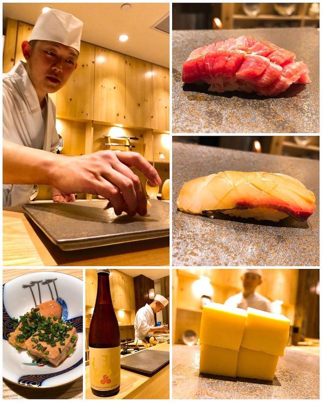 画像: 【2019年寿司32軒目『sushi AMANE』Jun.20】  今日は、アメリカ・ニューヨークのミシュラン寿司一つ星、そして、OADアメリカ・カナダで寿司・和食で1位(総合13位)のニューヨーク『sushi AMANE』に!  大将...