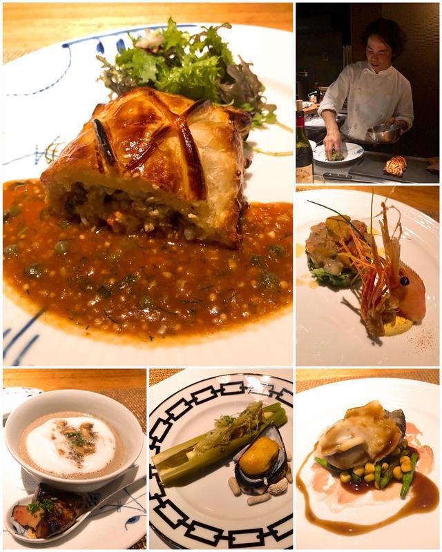 画像: 今年の3月、代官山『ata』の掛川哲司シェフから、広尾に『au deco (おでこ)』というフレンチをオープンし、自分はそこで料理を作るという連絡をもらっていて、ずーっと来たかったのですがなかなか来れず、妻の誕生日祝いにいいかも!と思い、行ってきまし...