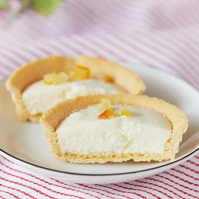 画像: コンビニスイーツ・ローソン 北海道産クリームチーズのタルト