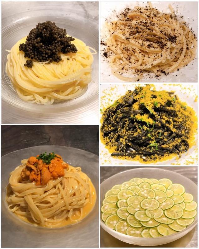 画像: 昨日は『マルテ』で、パスタ中心の食べあるキングの定例会でした! 「カチョエ黒七味」と「冷やしすだちスパゲッティ」が人気でした!  #マルテ #中目黒イタリアン #具義パスタ2019 #具義イタリアン2019 #食べあるキング