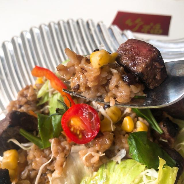 画像: 竹福さんのお肉でステーキサンド! 作りましたー♪