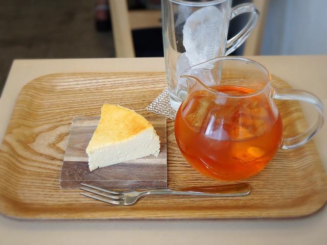 画像: チーズケーキパラダイス!・代々木 ロンネフェルト紅茶専門店コンテナート