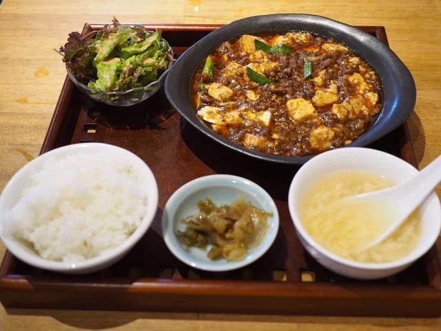 画像: お肉たっぷりで旨味と痺れがしっかり効いた病みつき必至の本格麻婆豆腐! 福島区 「四川料理と小吃 奏煖(カノン)」