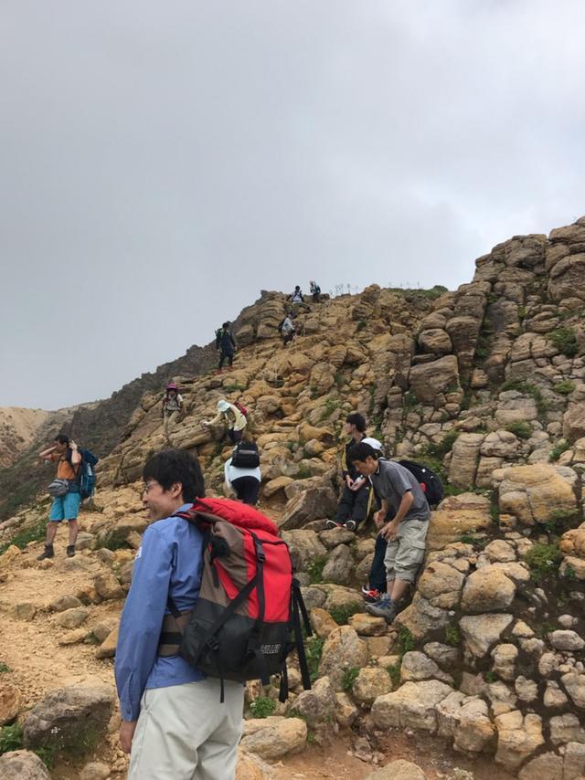 画像: 山の日ー!山に登りましたー!茶臼岳から朝日岳